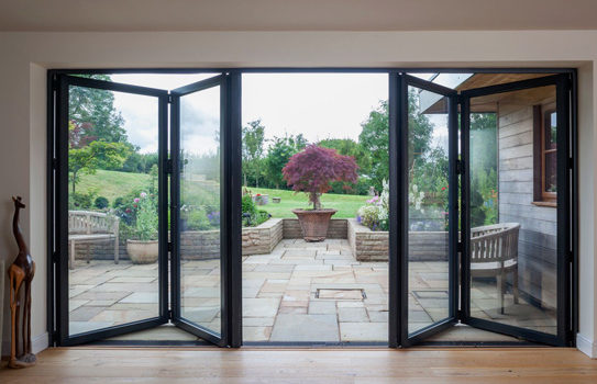 Bring The Outdoors Inside With Bifold Doors supplied in Gloucester, Cheltenham & Throughout Gloucestershire.